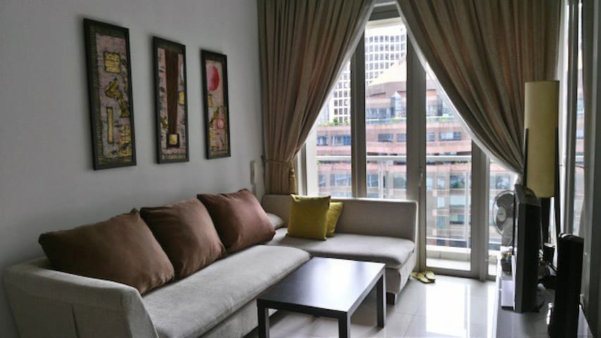 NEW! & CLEAN! 1 BEDROOM APT NEAR KLCC TWIN TOWERS