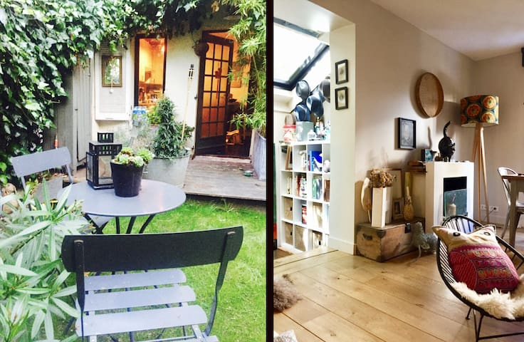 Beautiful Townhouse with garden in Paris !