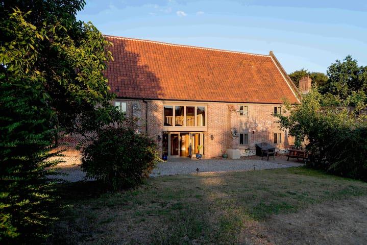 Medieval Swafield Barn Grade II Listed