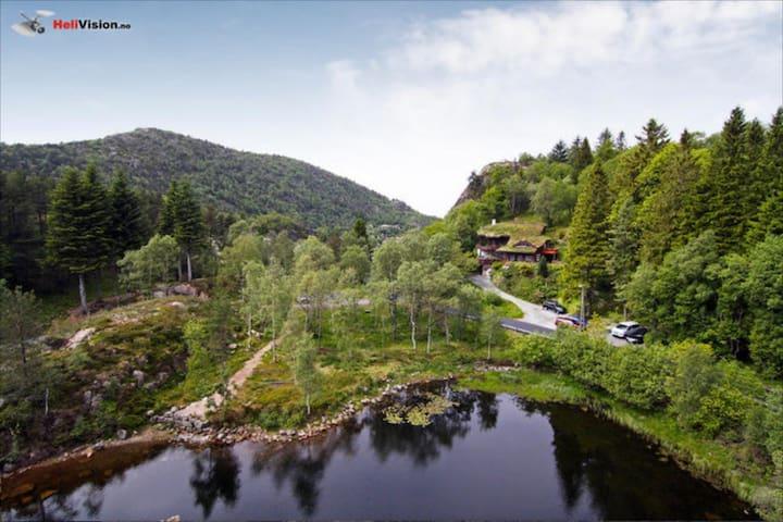 Spectacular nature villa immediate to city center