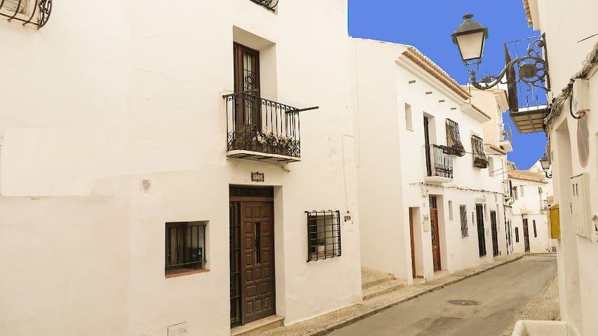 Altea old quarter. Casita Vigibbe. 2 bedroom house