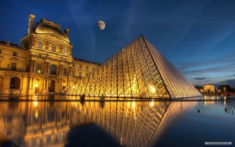 Cosy Studio au Louvre Palais Royal