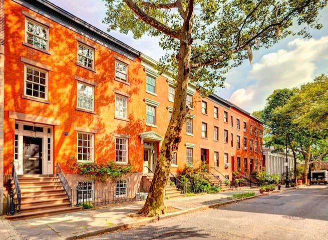 Brooklyn Heights 1 Bed Floorthru 950ft Garden Apt