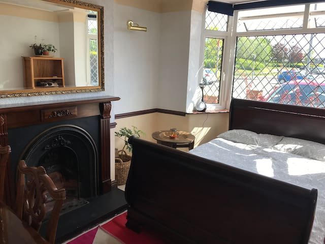 Comfortable front room