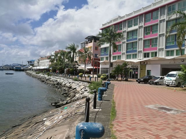 1L Sea View Sandakan CPD City Centre Back Packers