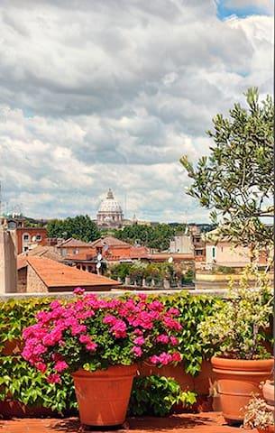 Romantic Trastevere, Holiday Home
