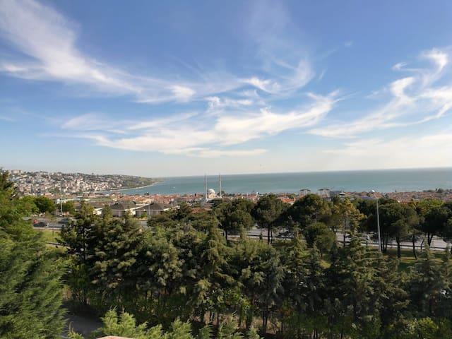 Villa King Full sea view in Büyükçekmece TÜYAP