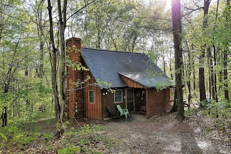 """""""The Loft Cabin"""" at Hiding Place Cabins"""