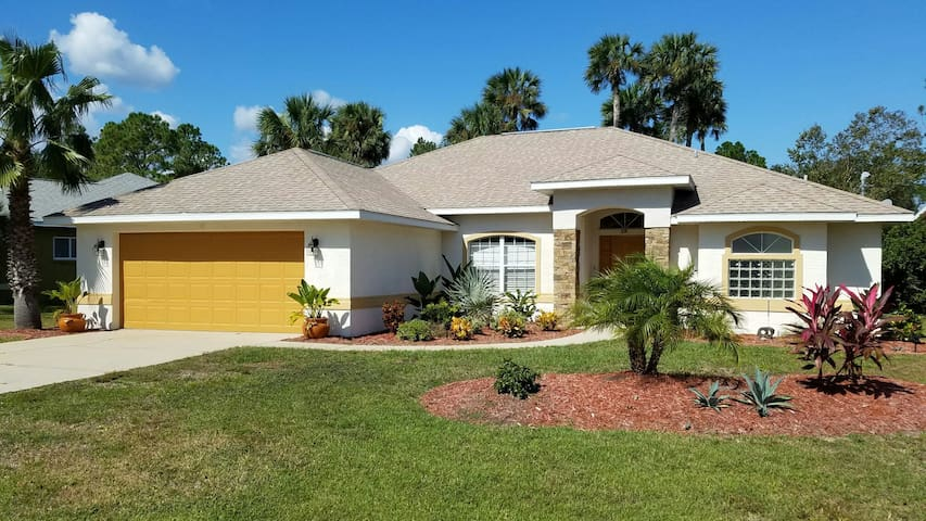 True Florida Pool Home Close to Many Adventures