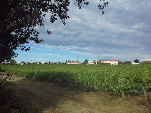 Saint-Fiacre-sur-Maine的民宿
