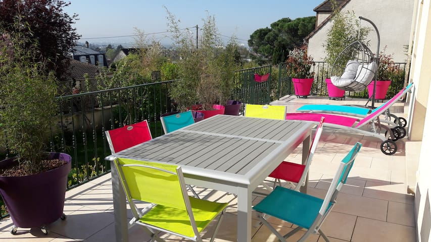 Very nice private Bedroom 40 minutes from Paris