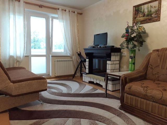 Cozy apartment near the Airport & Train Station