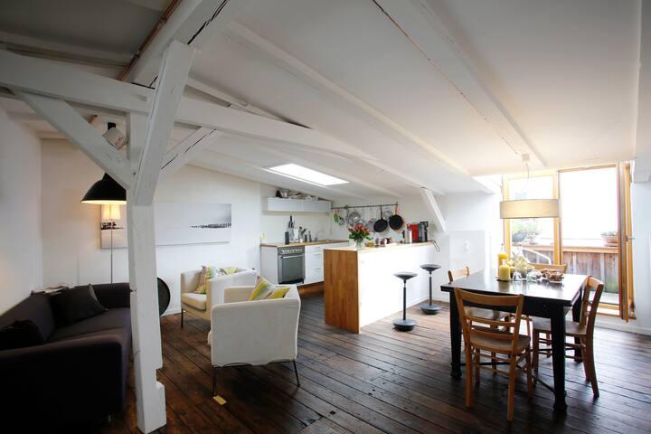 汉堡的民宿
