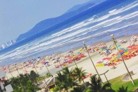 Verão é no Boqueirão na Praia Grande