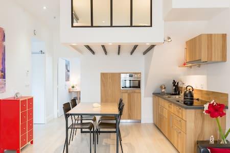 Very nice apartment, 500 m beaches,