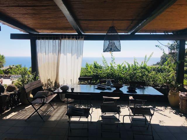 Ocean view villa - Dammuso il Cucciolo