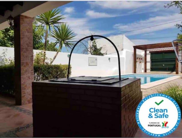 Casa da Aldeia com piscina,  Casa Branca, Alentejo