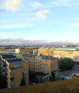 Boende med utsikt vid Masthuggstorget