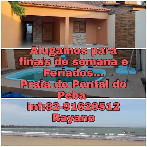 Praia do Pontal do Peba的民宿