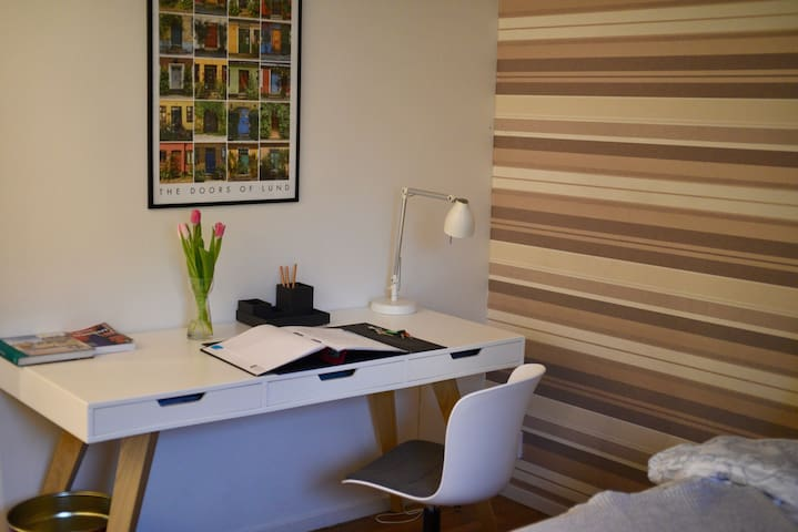 Comfortable room in south central Lund