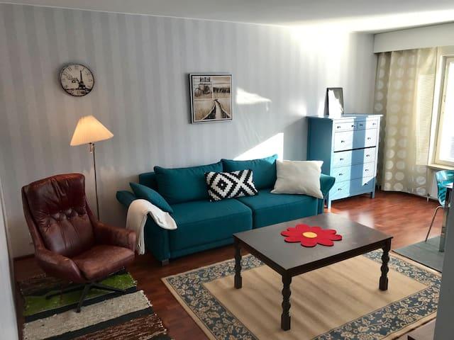 My 2nd 2-room flat in the center of Joensuu