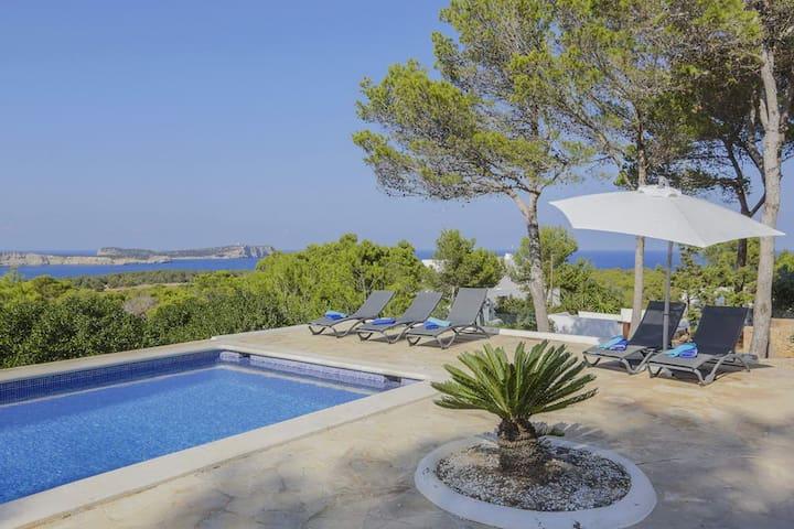 Stunning Seaview Villa Cala Compte - Cala Conta