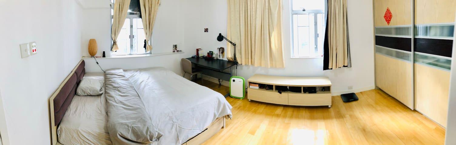 Spacious 2 bedroom apt on HK Island