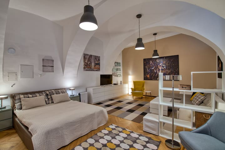 Vienna Central Souterrain Loft Apartment