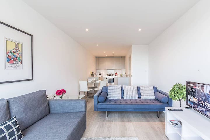 ❤️ Deluxe 1 Bed Apt, Free Snacks and Free WiFi! ⚡️