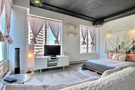 Beautiful modern minimalist loft!