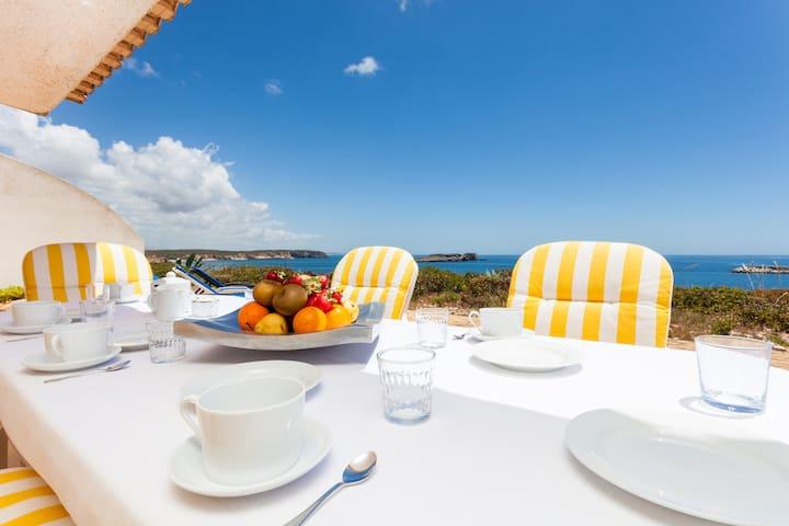 Beach Villa with a unique view