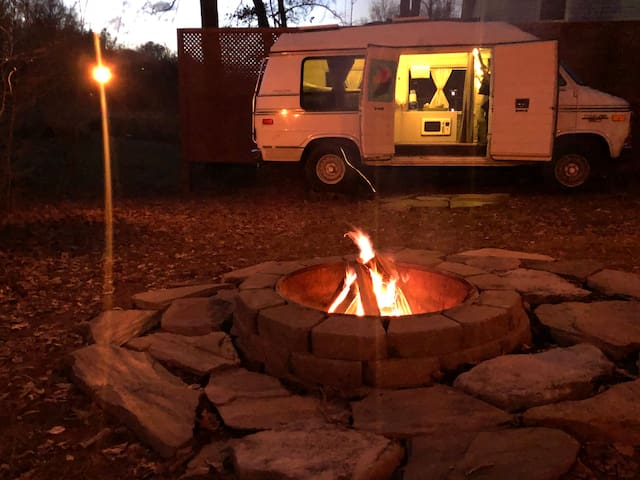Van camping- do something different!