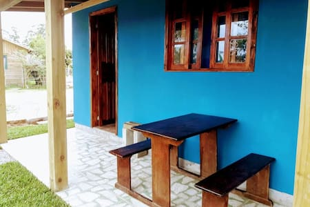 cabaña azul 2