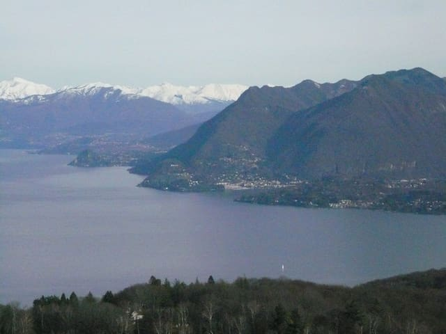 homely apartment near lake Maggiore and Orta