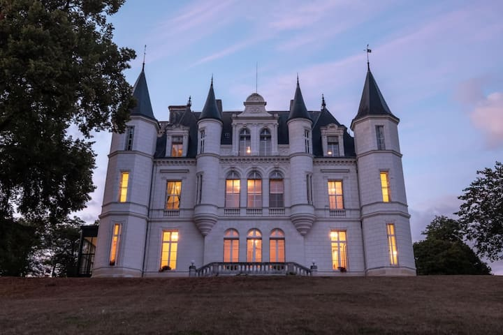 Historic Chateau in the Loire Valley