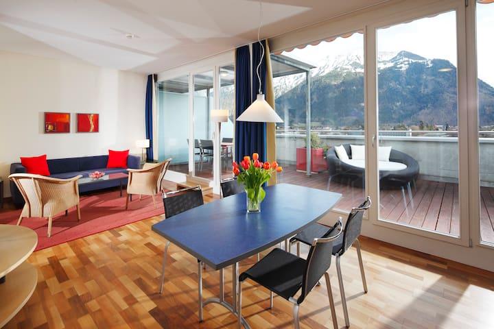 茵特拉肯(Interlaken)的民宿