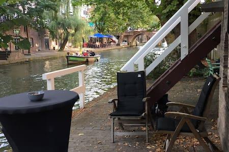 Lovely Canal House in centre Utrecht