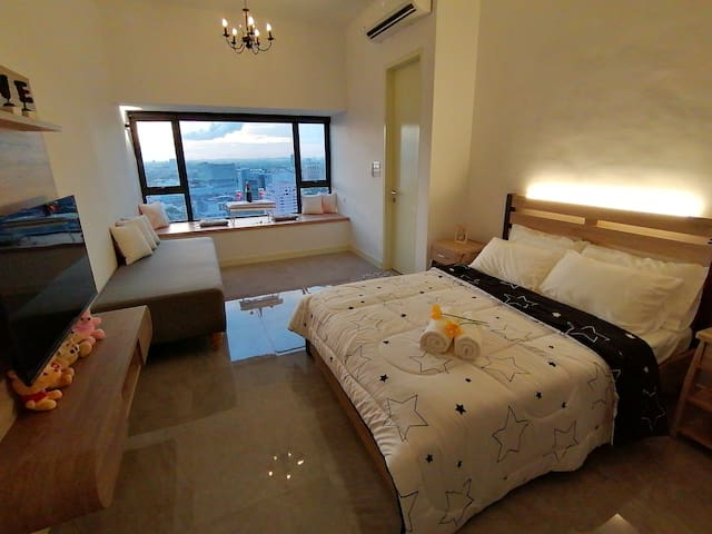 (NEW) Melaka Imperio StayLovely *SeaView*WIFI*3Pax