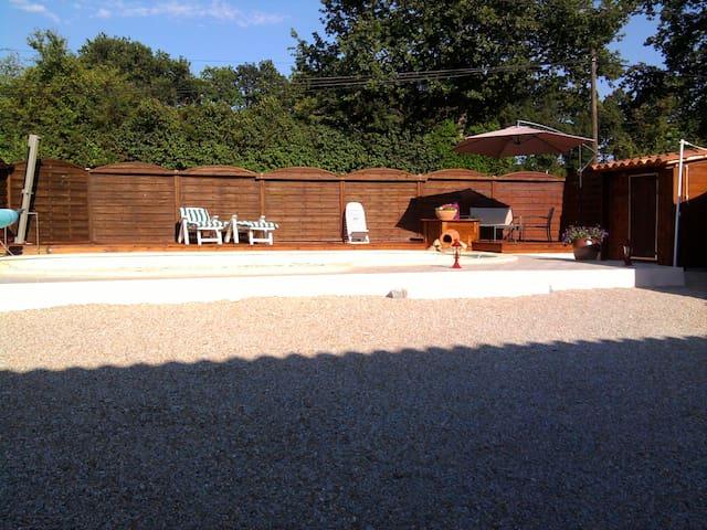Coquet T2 avec piscine