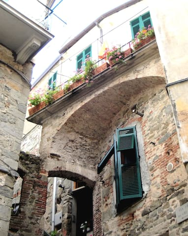 Cute studio room in Corniglia, heart of 5Terre