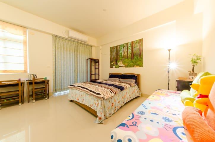 雙人庭院房double room for garden