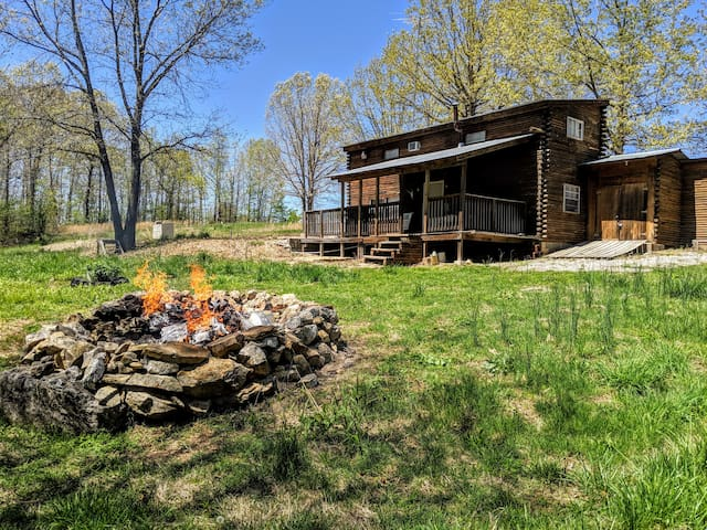 """Spring River Cabin & Camping- The """"Big"""" Cabin"""