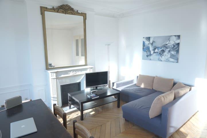 Beautiful Bedroom in Haussmannian flat