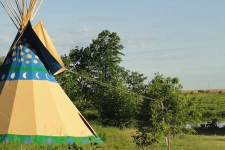 Walking Stick Adventures Tipi Camp