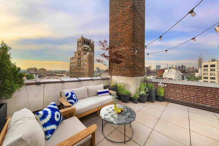 Luxury West Village Penthouse w/ Private Terrace