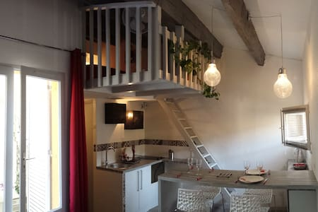 Studio Mezzanine Cap Agde Pinède 100% sans contact