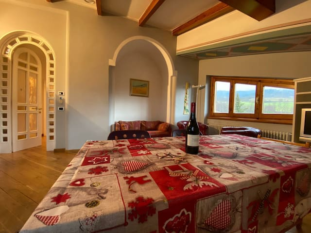 Luxury loft in casentino valley near Florence