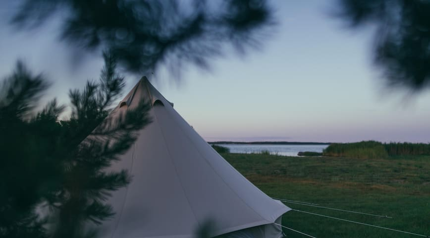 Private Luxurious Tent/Saaremaa Seaside (4 people)