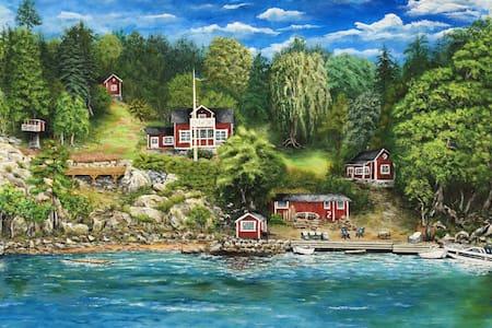 """Seafront cottage - """"Utsikten"""""""