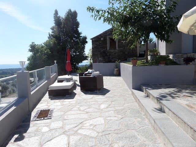 Castellare-Di-Casinca的民宿